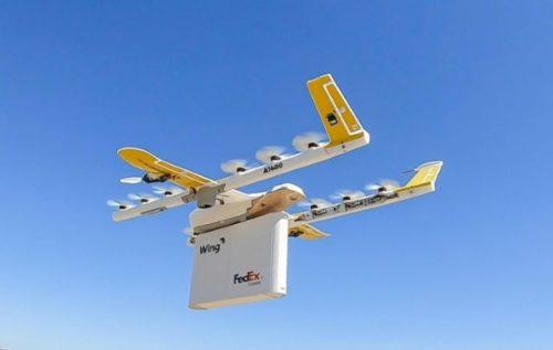CVS Walgreens delivery drone