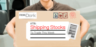 shipping stocks to trade this week