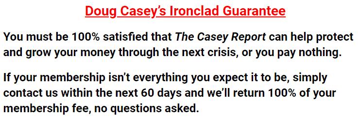 casey report reviewed guarantee
