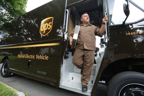 UPS shipping stocks