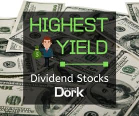 This Year's Highest Dividend Stocks