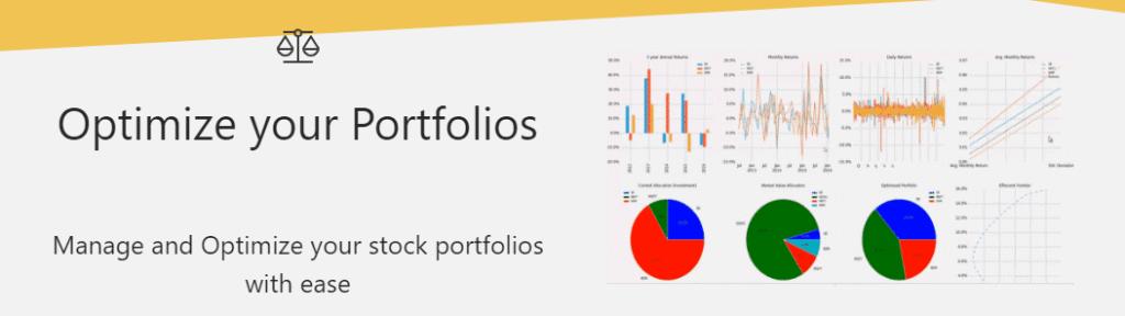 marketxls reviewed portfolio