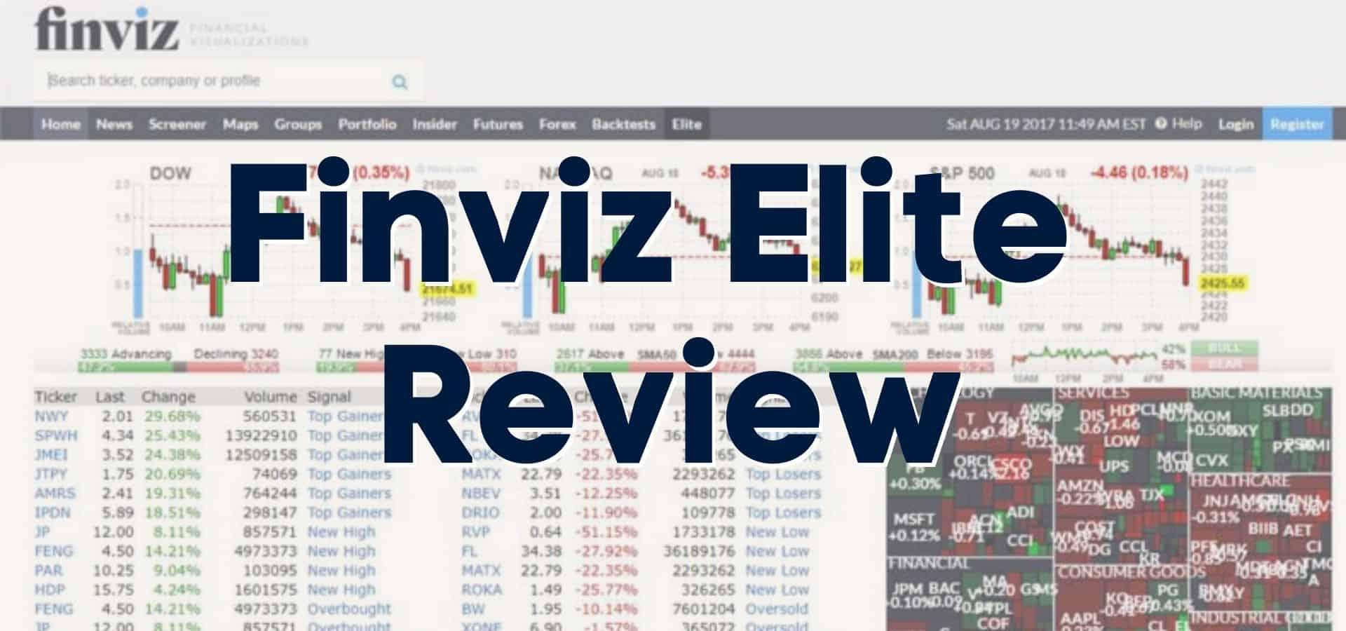 Finviz Elite Review: Is It the Best Stock Screener Around?