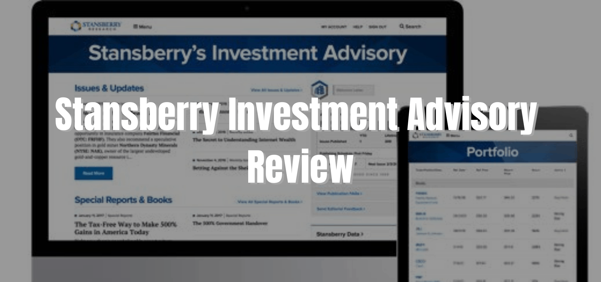 Stansberry Investment Advisory Review: Is Porter Stansberry a Scammer?