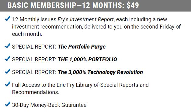 fry's investment advisory review basic membership