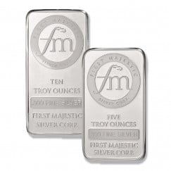 First Majestic silver bullions