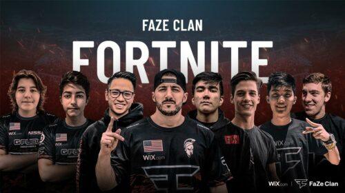 Faze Fortnite team