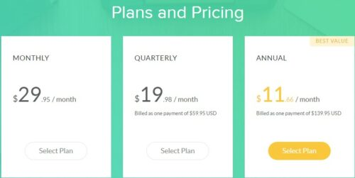 Grammarly pricing options