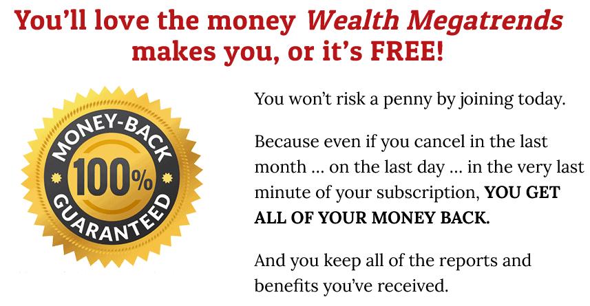 wealth megatrends money-back guarantee