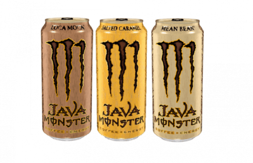Java Monster energy drinks