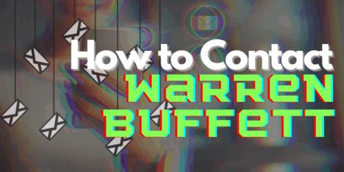 how to contact warren buffet