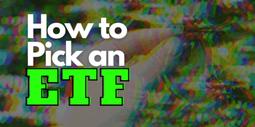how to pick an etf