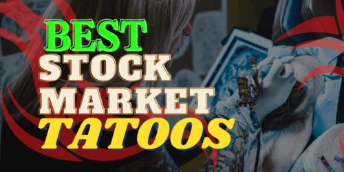 best stock market tattoos