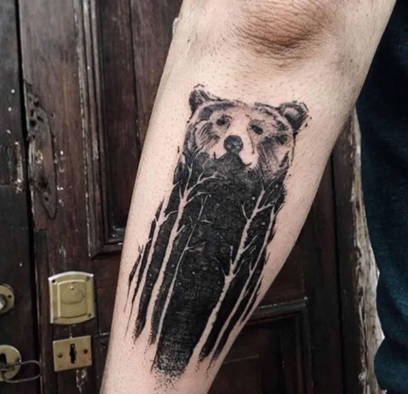 bear tattoo stock market