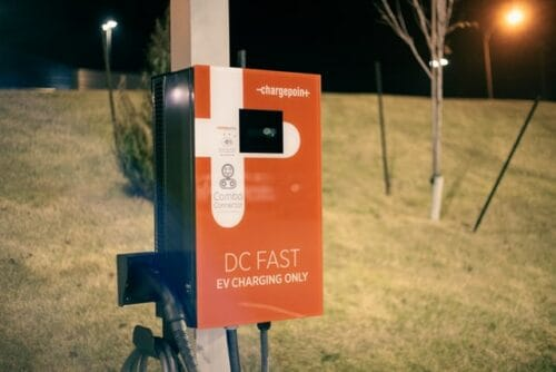 Chargepoint charging station