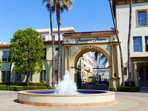 Paramount Pictures studio in Los Angeles