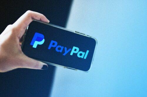 PayPal app on phone