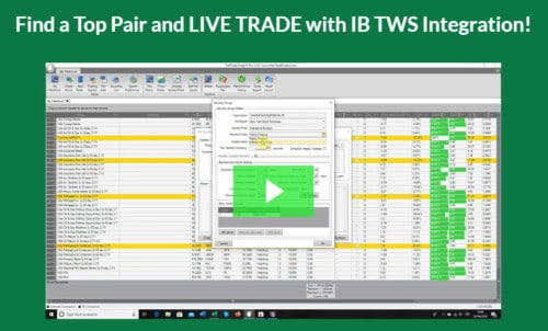 How does PairTrade Finder work?