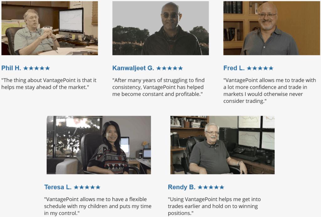 vantagepoint reviews by members