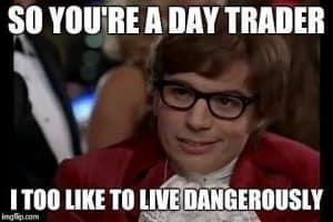 day trader meme austin powers