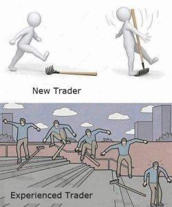stock market trading meme