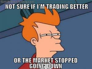 stock market not sure futurama