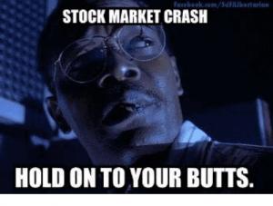 stock market crash funny