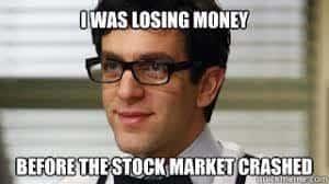 stock market crash the office