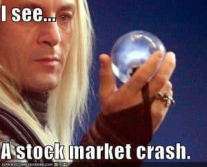 stock market crash harry potter