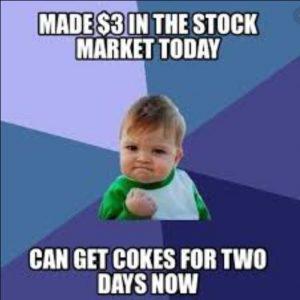 stock market meme small