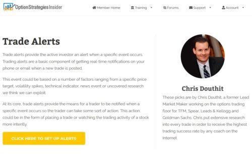 Option Strategies Insider trade alerts
