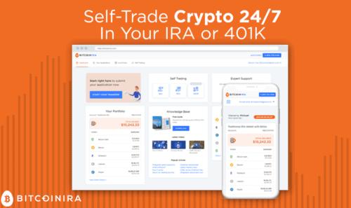 BitcoinIRA trading features