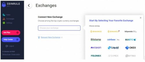 coin rule supported exchanges