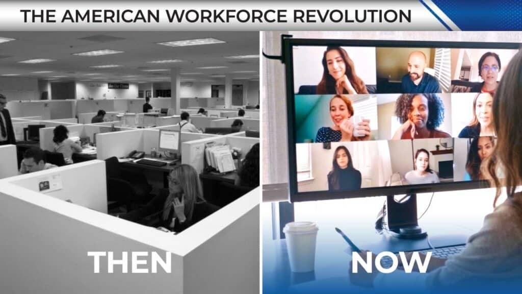 workforce revolution example graphic
