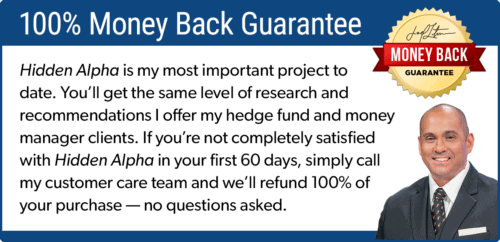 hidden alpha guarantee review