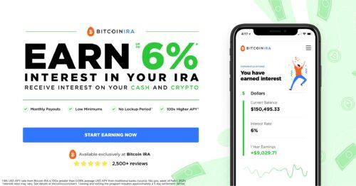 BitcoinIRA earn