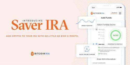 BitcoinIRA saver IRA