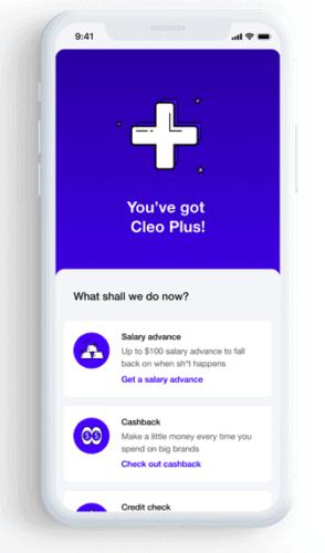 Cleo salary advance