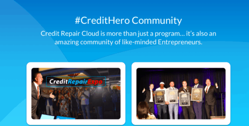 Credit repair Cloud community