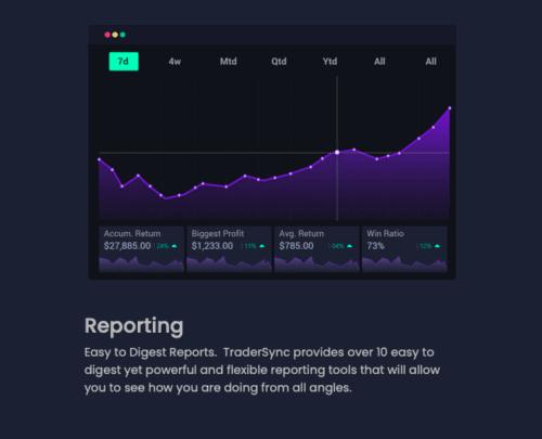 Tradersync reporting