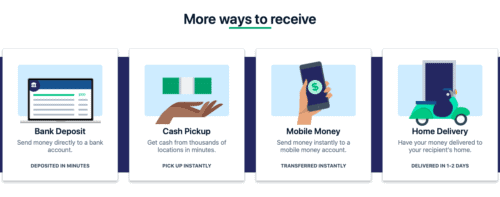 Remitly Review: Ways to Receive