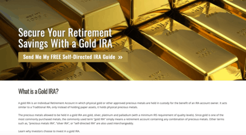 Goldco Review: Gold IRA