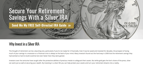 Goldco review: Silver IRA