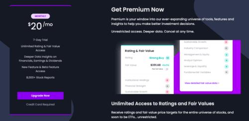 EquitySet Review: EquitySet Premium
