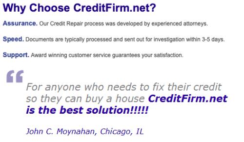 creditfirm.net reviews