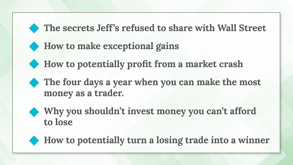 jeff clark 3 stock retirement review