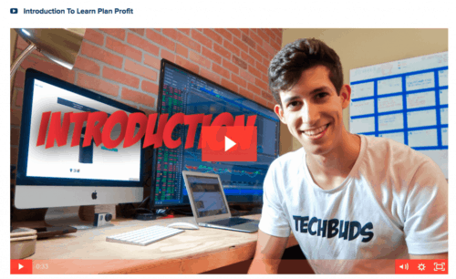 Learn Plan Profit Review Introduction