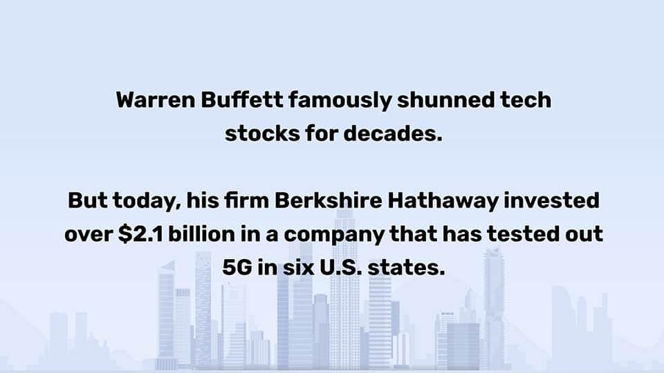 strategic investor 5G stocks