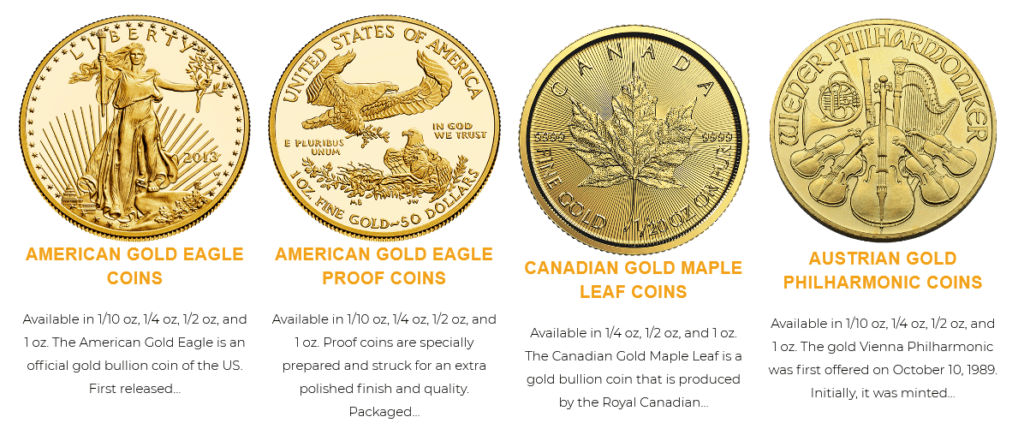 noble gold coins review