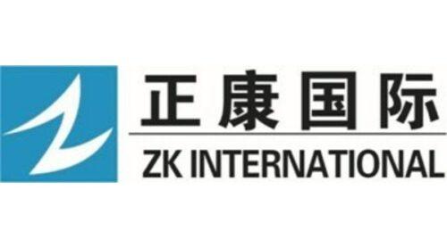 ZK International logo